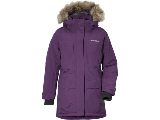 DIDRIKSONS Jamila Parka Fille, berry purple